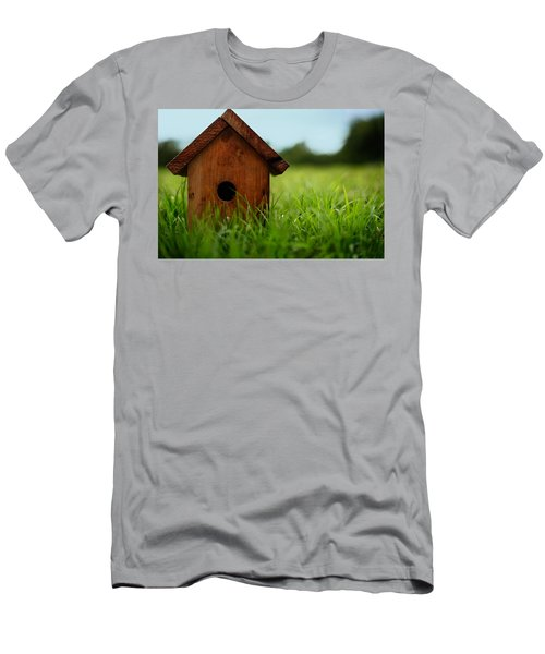 Men's T-Shirt (Slim Fit) featuring the photograph Down To Earth by Laura Fasulo