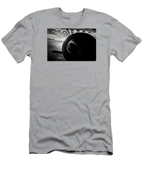Down Up  Men's T-Shirt (Slim Fit)