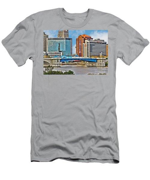 Downtown Toledo Riverfront Men's T-Shirt (Athletic Fit)