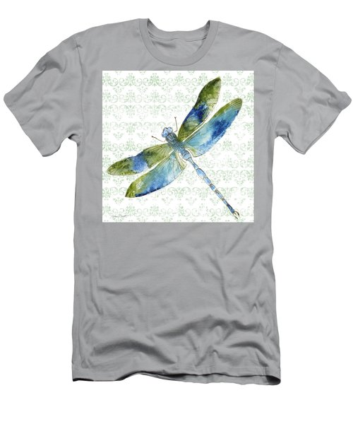 Dragonfly Bliss-jp3435 Men's T-Shirt (Athletic Fit)