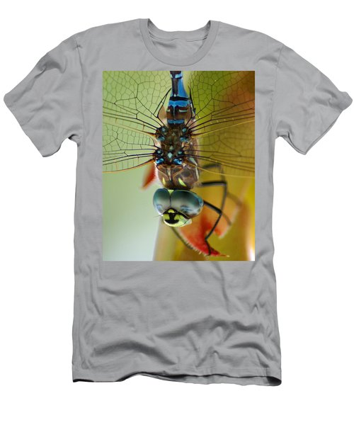 Dragonfly In Thought Men's T-Shirt (Athletic Fit)