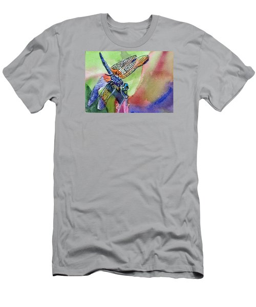 Dragonfly Of Many Colors Men's T-Shirt (Athletic Fit)