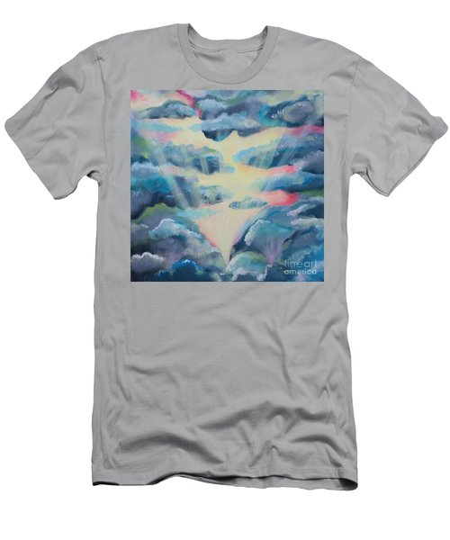 Men's T-Shirt (Slim Fit) featuring the painting Dream by Stacey Zimmerman