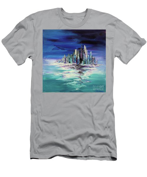 Dreamland Isle Men's T-Shirt (Athletic Fit)