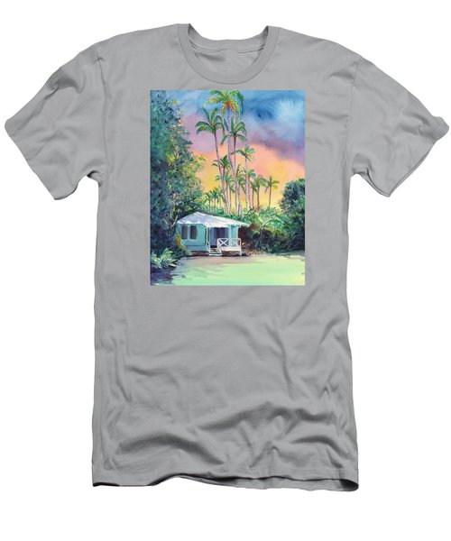 Dreams Of Kauai Men's T-Shirt (Slim Fit) by Marionette Taboniar