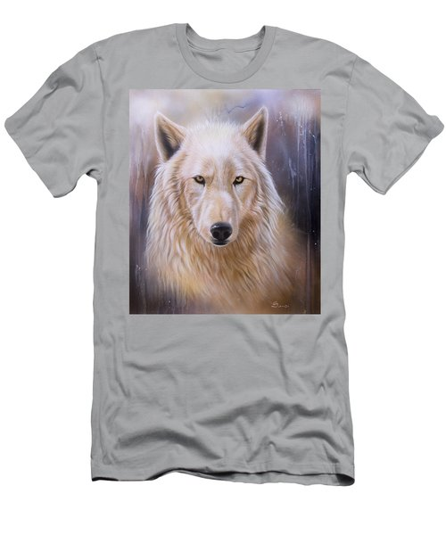 Dreamscape Wolf IIi Men's T-Shirt (Athletic Fit)