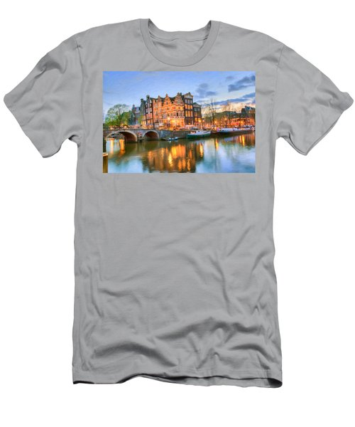 Dreamy Amsterdam   Men's T-Shirt (Athletic Fit)