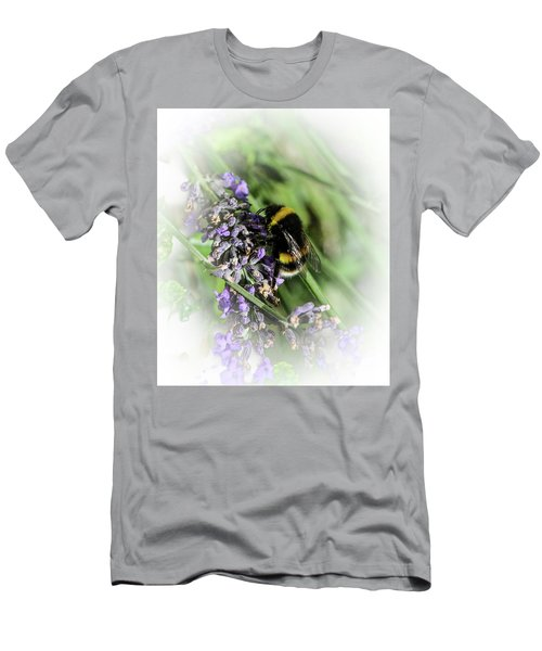 Dreamy Bumble Bee Men's T-Shirt (Athletic Fit)