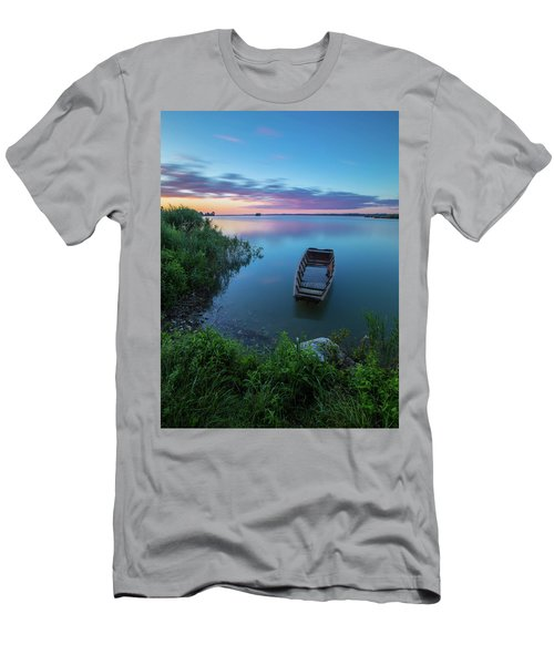 Men's T-Shirt (Athletic Fit) featuring the photograph Dreamy Colors Of The East by Davor Zerjav