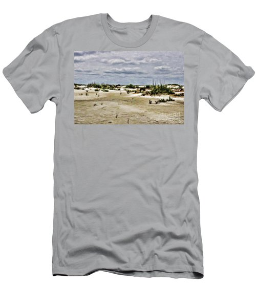 Dreamy Dunes Men's T-Shirt (Slim Fit) by Roberta Byram