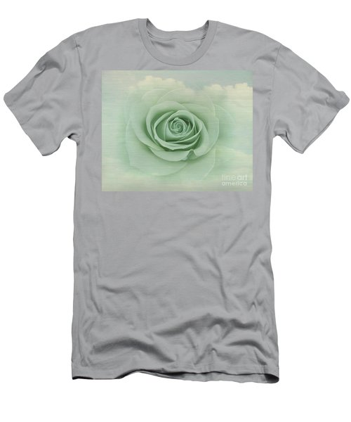 Dreamy Vintage Floating Rose Men's T-Shirt (Athletic Fit)