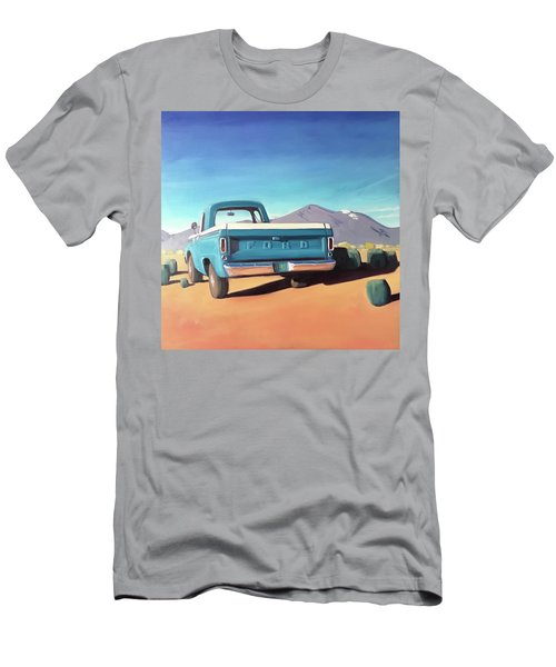 Drive Through The Sagebrush Men's T-Shirt (Athletic Fit)