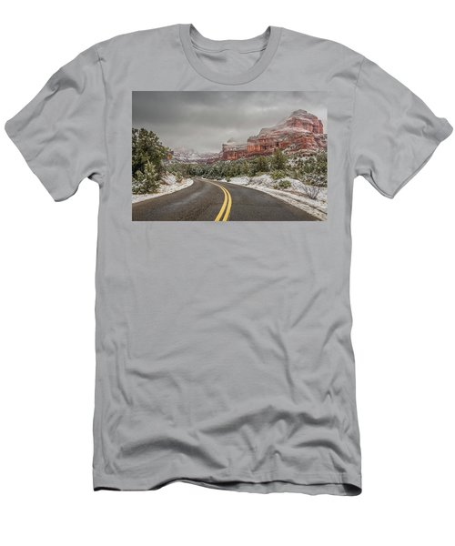 Boynton Canyon Road Men's T-Shirt (Athletic Fit)