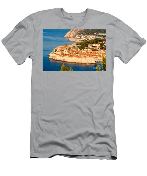 Dubrovnik Old City Men's T-Shirt (Athletic Fit)