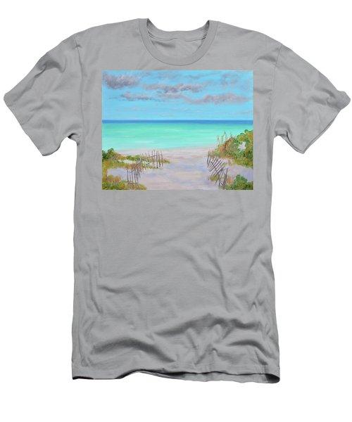 Dunes Beach Men's T-Shirt (Athletic Fit)