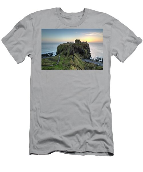 Dunnottar Castle At Sunrise Men's T-Shirt (Athletic Fit)