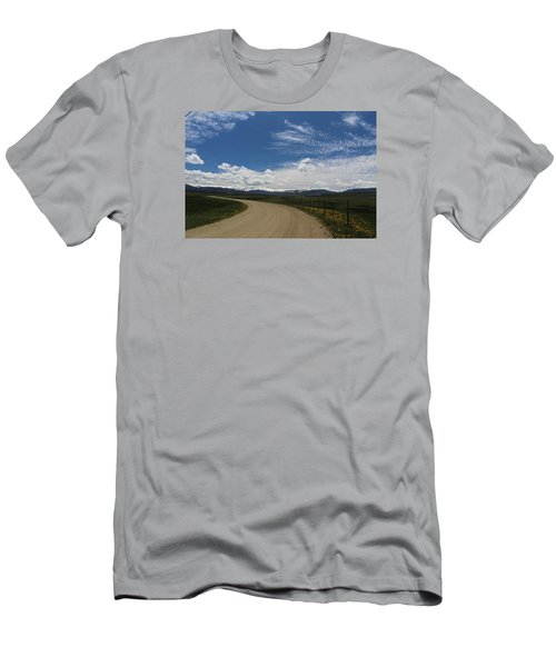 Dusty  Road Men's T-Shirt (Athletic Fit)