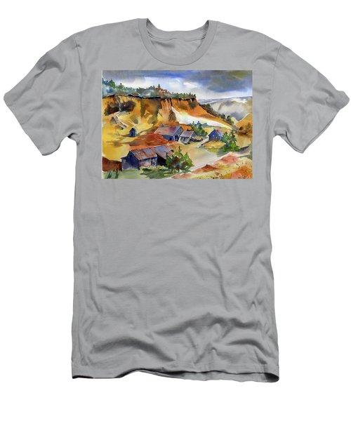 Dutch Flat Diggin's Gold Men's T-Shirt (Athletic Fit)