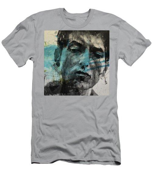 Dylan - Retro  Maggies Farm No More Men's T-Shirt (Athletic Fit)