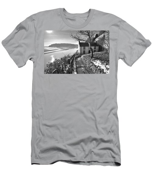 Dylan Thomas Boathouse 1b Men's T-Shirt (Athletic Fit)