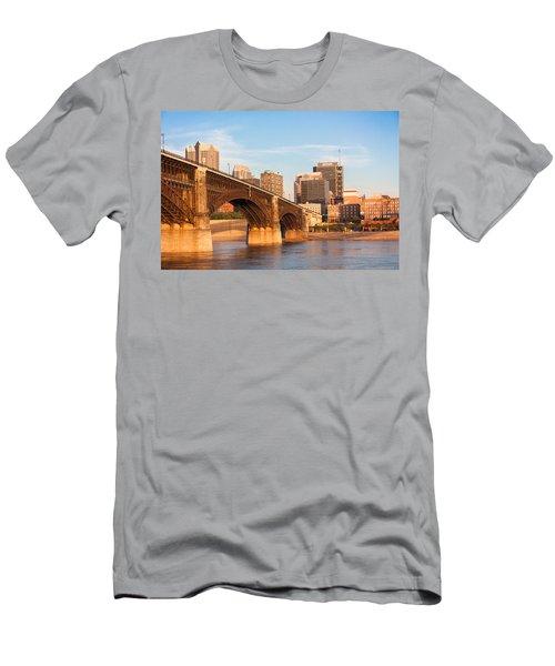Eads Bridge At St Louis Men's T-Shirt (Athletic Fit)
