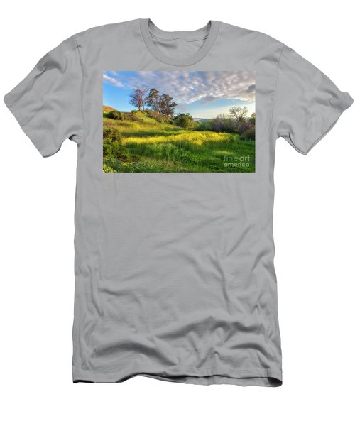 Men's T-Shirt (Slim Fit) featuring the photograph Eagle Grove At Lake Casitas In Ventura County, California by John A Rodriguez