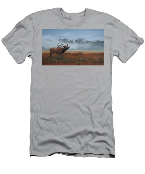 Men's T-Shirt (Athletic Fit) featuring the painting Early Call by Tammy Taylor