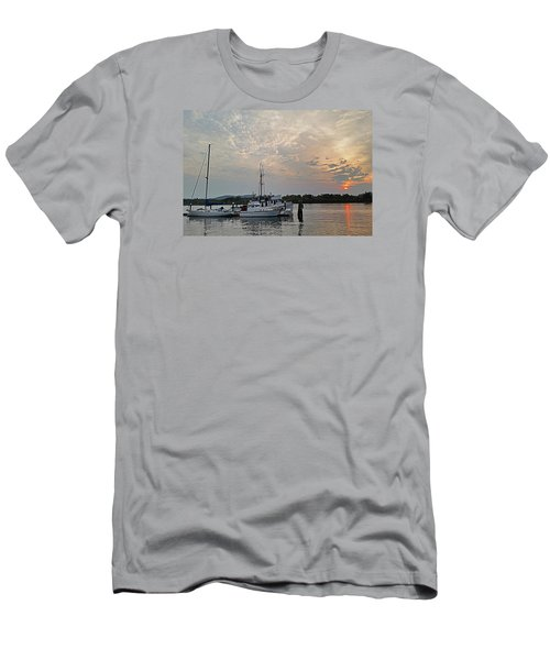 Men's T-Shirt (Slim Fit) featuring the photograph Early Morning Calm by Suzy Piatt