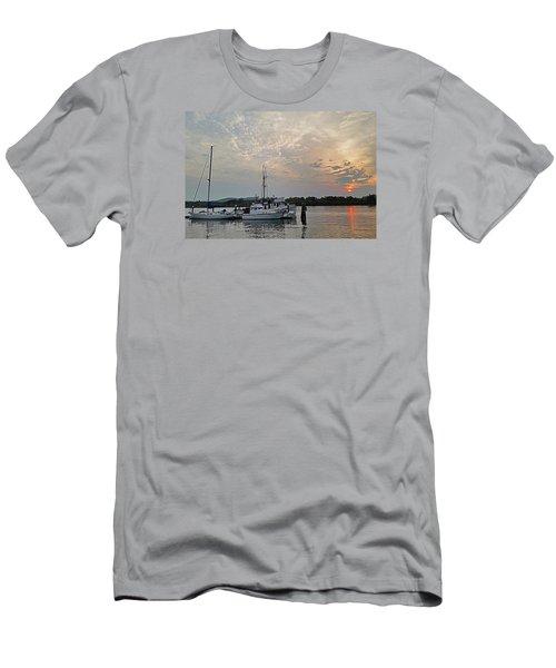 Early Morning Calm Men's T-Shirt (Slim Fit) by Suzy Piatt