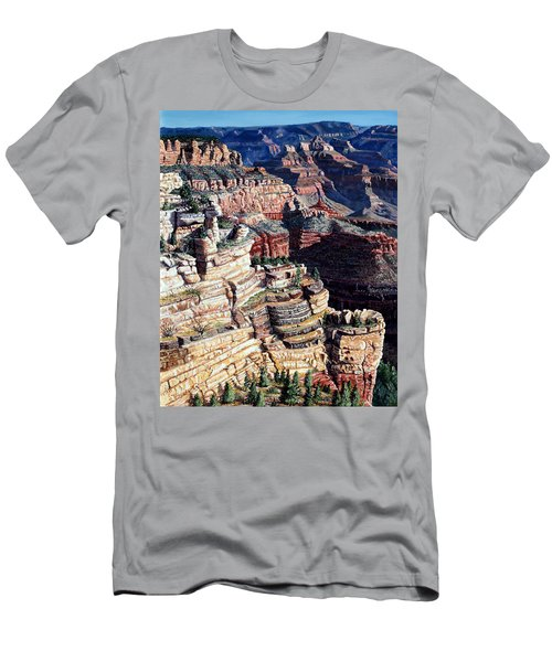 Early Morning From The South Rim Men's T-Shirt (Athletic Fit)