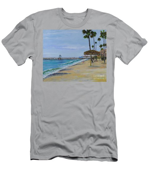 Early Morning On The Beach Men's T-Shirt (Athletic Fit)