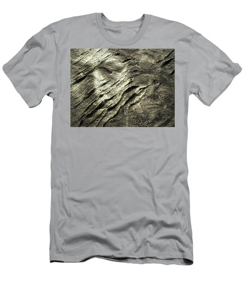 Men's T-Shirt (Slim Fit) featuring the photograph Earth Memories - Sleeping River # 4 by Ed Hall