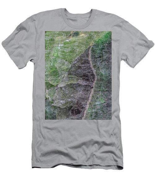Earth Portrait 294 Men's T-Shirt (Athletic Fit)