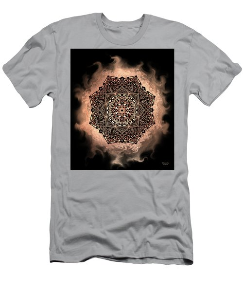 Earthy Mandala Men's T-Shirt (Athletic Fit)