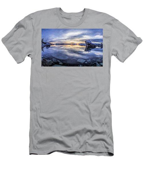 East Shore Sunset Men's T-Shirt (Athletic Fit)
