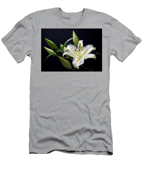 Easter Lily 3 Men's T-Shirt (Athletic Fit)
