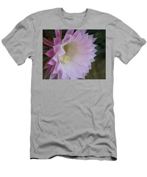 Easter Lily Cactus East Men's T-Shirt (Athletic Fit)