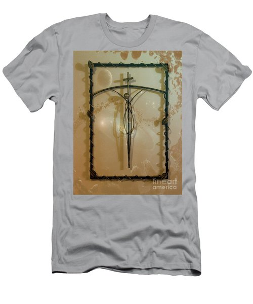 Men's T-Shirt (Slim Fit) featuring the photograph Easter Remembrance II by Al Bourassa