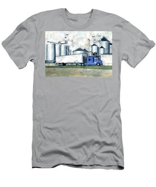 Ebberts Seed Corn Men's T-Shirt (Athletic Fit)