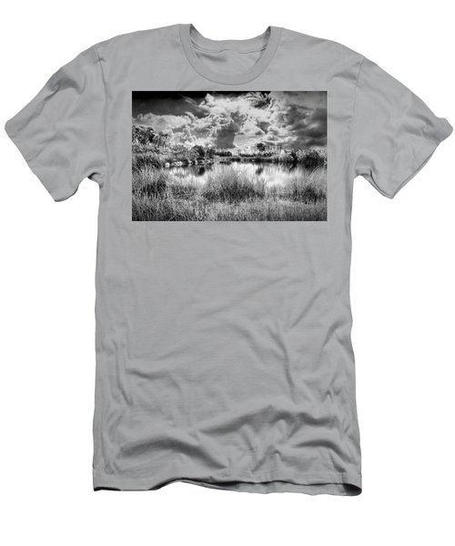 Everglades Lake 5678bw Men's T-Shirt (Athletic Fit)