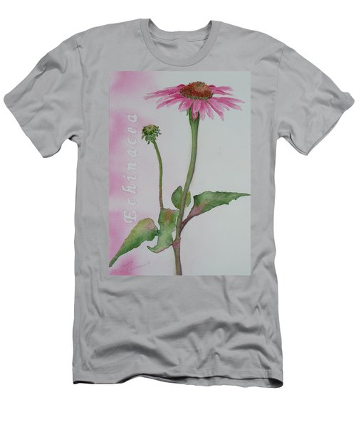Echinacea Men's T-Shirt (Athletic Fit)