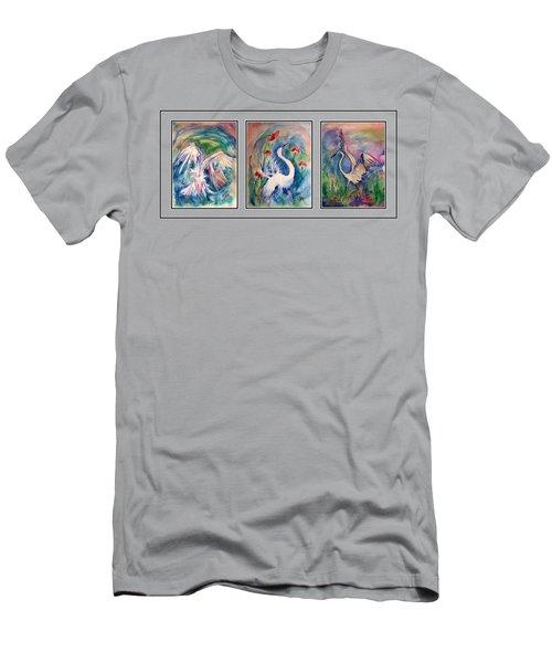 Egret Series Men's T-Shirt (Athletic Fit)