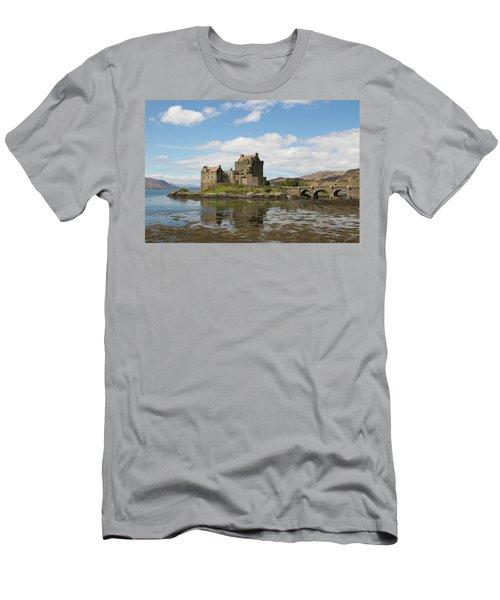 Men's T-Shirt (Athletic Fit) featuring the photograph Eilean Donan Castle - Scotland by Karen Van Der Zijden