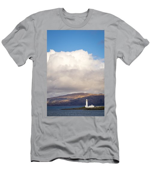 Eilean Musdile Lighthouse On Lismore Men's T-Shirt (Athletic Fit)
