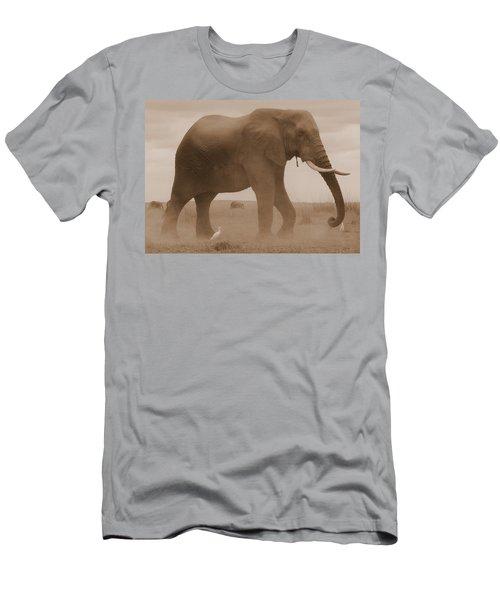 Elephant Dust Men's T-Shirt (Athletic Fit)