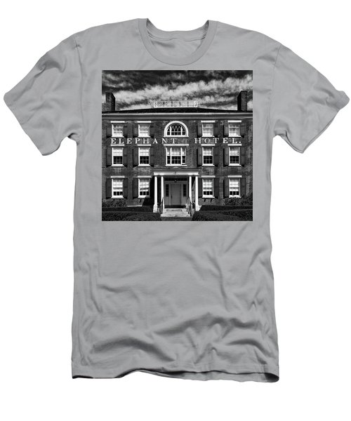 Men's T-Shirt (Athletic Fit) featuring the photograph Elephant Hotel by Eric Lake