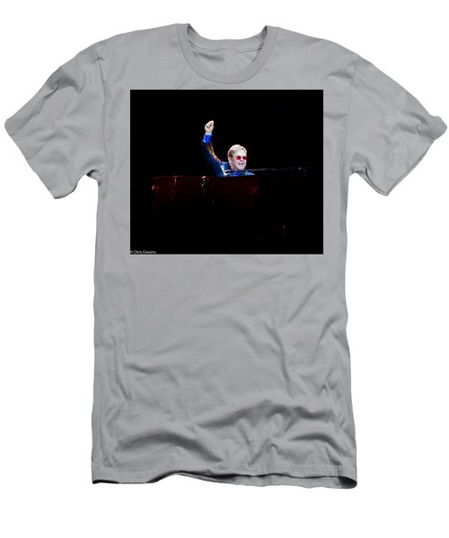 Men's T-Shirt (Athletic Fit) featuring the photograph Elton by Chris Cousins