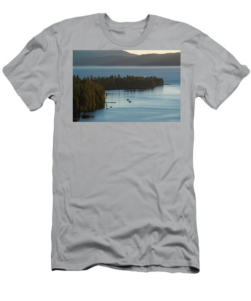 Emerald Bay Channel Men's T-Shirt (Athletic Fit)