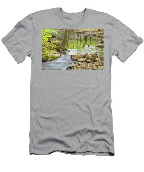 Emerald Liquid Glass Men's T-Shirt (Athletic Fit)