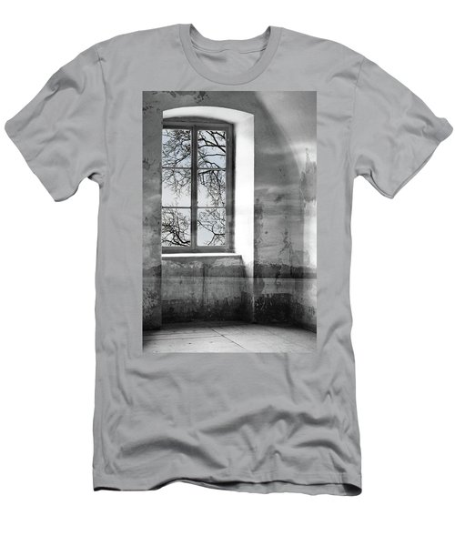Men's T-Shirt (Slim Fit) featuring the photograph Emptiness by Munir Alawi